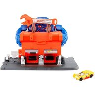Hot Wheels - Pista de masini Gorilla Rage Garage Attack Cu masinuta by Mattel