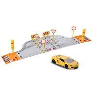 Majorette - Pista de masini Creatix Starter Pack cu 1 masinuta Lamborghini