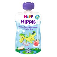 HiPP - Piure  Hippis fructul dragonului, coacaze negre, mar, para 100 g