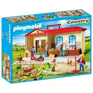 Playmobil - Cutie de joaca Casuta de la tara