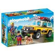 Playmobil - Salvatori montani cu camion