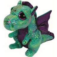 TY - Jucarie din plus Dragonul Cinder 24 cm Boos, Verde