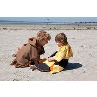 LittleLife - Poncho pentru plaja UPF 50+ Dragon, 3-6 ani