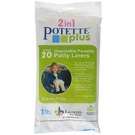 Potette Plus - Saci biodegradabili 20 buc