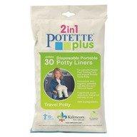Potette Plus - Pungi biodegradabile de unica folosinta pentru olita portabila - 30 buc/set