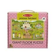 Melissa & Doug - Puzzle de podea Tinutul Printelesor Puzzle Copii, pcs  60