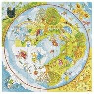 Goki - Puzzle educativ Anotimpurile Puzzle Copii, pcs  49