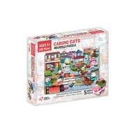 Chalk and Chuckles - Puzzle cu surprize Helpfilli, 100 piese