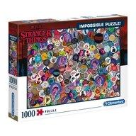Clementoni - Puzzle peisaje Impossible Stranger things  Puzzle Adulti, pcs  1000, Multicolor