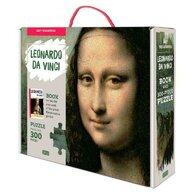 Sassi - Puzzle personaje Mona Lisa Cu carte Puzzle Copii, pcs  300