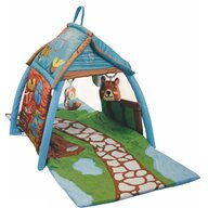 Lorelli - Salteluta interactiva Little House, 113x56 cm, Multicolor