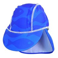 Swimpy - Sapca Fish blue , protectie UV , 1-2 ani