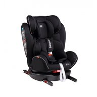 Babyauto - Scaun auto copii Noe Fix, cu sistem Dual Isofix, 0-36 kg, Negru/Gri