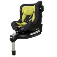 Coto Baby - Scaun auto Solario Melange Spatar reglabil, Protectie laterala, Rotire 360 grade, 0-18 Kg, cu Isofix, Verde