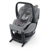 Recaro - Scaun auto Salia Elite Prime Silent Spatar reglabil, Protectie laterala, Rotire 360 grade, 0-18 Kg, Gri