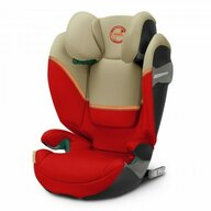 Cybex - Scaun auto Solution S I-Fix Autumn Spatar reglabil, Protectie laterala, 15-36 Kg, cu Isofix, Bej