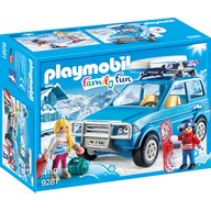 Playmobil - Schiori si masina de teren