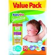 Babylino - Scutece Sensitive Economy N2 3-6kg/50 buc
