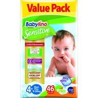 Babylino - Scutece Sensitive Economy N4+ 9-20kg/46 buc