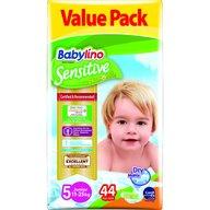 Babylino - Scutece Sensitive Economy N5 11-25kg/44 buc