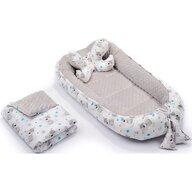 Infantilo - Suport de dormit 3 in 1 Ursuleti Minky, Gri