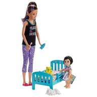 Barbie - Papusa  Skipper Mergem la nani by Mattel Family