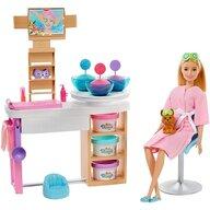 Papusa Barbie O zi la salonul Spa Cu accesorii by Mattel Wellness and Fitness