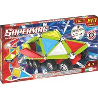 Supermag - Set constructie Tags Wheels, 143 piese
