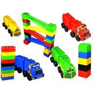 Super Plastic Toys - Set de constructie gigant Car Race