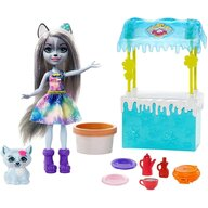 Enchantimals - Set papusa Hawna Husky Whipped Cream Cu accesorii by Mattel