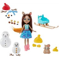 Enchantimals - Set papusa Sharlotte Squirrel Peanut Cu accesorii by Mattel