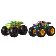 Hot Wheels - Set A51 Patrol vs Test Subject by Mattel Monster Trucks Demolition Doubles