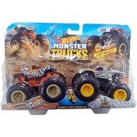 Hot Wheels - Set HW Safari vs Wild Streak by Mattel Monster Trucks Demolition Doubles