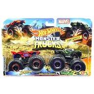 Hot Wheels - Set Spiderman vs Hulk by Mattel Monster Trucks Demolition Doubles