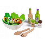 Ecotoys - Set legume pentru salata cu bol