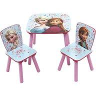 Arditex - Set Masuta cu 2 scaunele Disney Frozen din Lemn, 50x50 cm