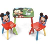 Arditex - Set Masuta cu 2 scaunele Mickey Mouse din Lemn, 50x50 cm