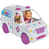 Papusa Evi Love Set doctor Evi 2 in 1 Vet Mobile masina Cu accesorii