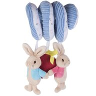 Rainbow Design - Jucarie multifunctionala Flopsy Rabbit Cu activitati, 26 cm Peter Rabit