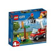 Lego - Stingerea incendiului de la gratar