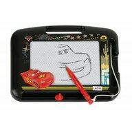 Lena - Tablita magnetica pentru desenat Cars cu creion, 22 cm