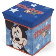 Arditex - Mobilier depozitare jucarii Taburet Mickey Mouse, 30x30 cm