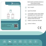 LEPU MEDICAL - Test rapid antigen COVID-19 (Colloidal Gold Immunochromatography) - set 5 buc
