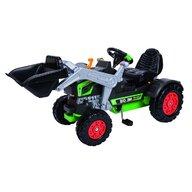 Simba - Tractor cu pedale Turbo Cu cupa, Cu volan interactiv, Verde