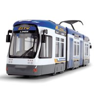 Dickie Toys - Tramvai City Liner,Albastru