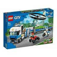 Set de joaca Transportul elicopterului de politie LEGO® City, pcs  317