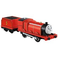 Fisher Price - Tren Trackmaster James by Mattel Thomas and Friends