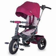 Tricicleta COCCOLLE Corso multifunctionala roti cauciuc violet