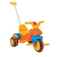 Pilsan - Tricicleta Caterpillar Mecanism de pedalare libera, Suport picioare, Control al directiei, Portocaliu