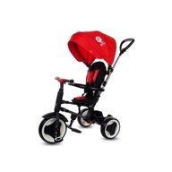 Tricicleta Qplay Rito Mecanism de pedalare libera, Control al directiei, Pliabila, Rosu